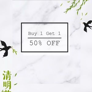 Other - BUY ANY ITEM GET 1 50 % off